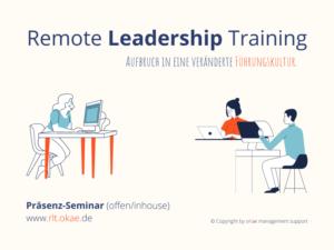 Remote Leadership Training